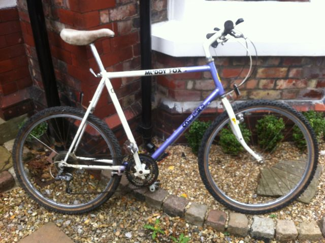 Old Skool Classic Mountain Bikes 22 Muddy Fox Courier X 2